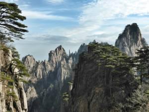 Cina, monti Huangshan