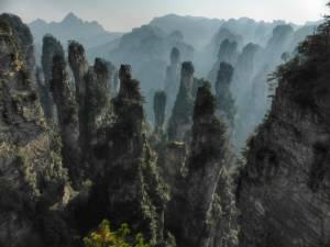 Cina, parco di Zangjiajie