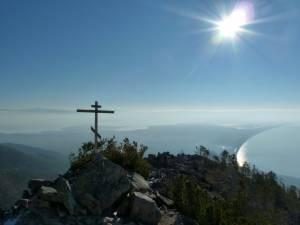 Russia, lago Baikal,  penisola di Holy Nose
