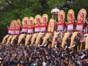 India, Thrissur Pooram