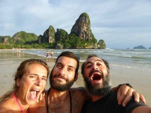 Thailandia, Railay beach col Bongio