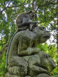 "Indonesia, Bali, ""Sacred Monkey Forest"""